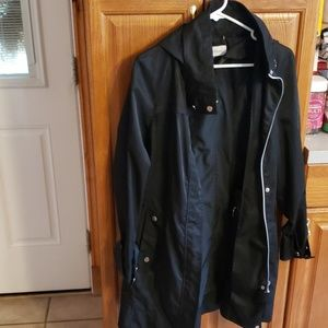 Calvin Klein rain jacket with hood